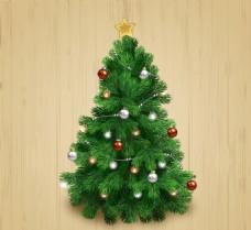 矢量圣诞树