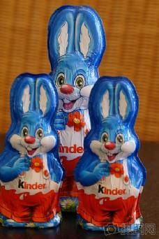 可爱的兔子玩偶