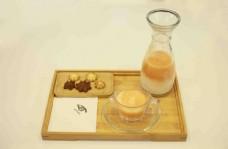 咖啡甜点展示图片