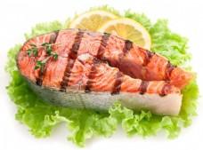 生菜柠檬烤鱼图片