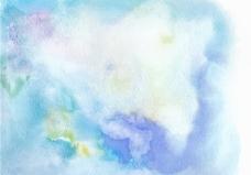 淡蓝色自由矢量水彩纹理