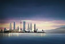国际化建筑群