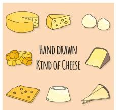 收藏的素描奶酪