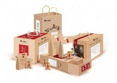 农特产品包装展示设计样例