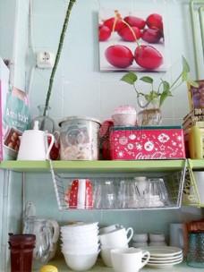 厨房里的餐具
