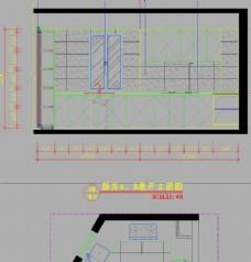 别墅施工 厨房立面施工图