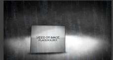 暴风雨的夜晚视频素材