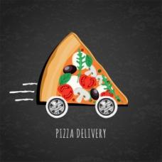 创意披萨汽车图片