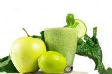 苹果柠檬蔬菜汁图片