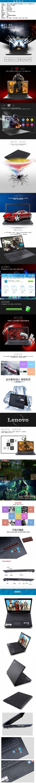 蓝色科技淘宝笔记本电脑详情页psd分层素材