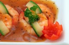 中国食品-美食烤王老虎虾