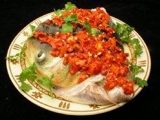 剁椒鱼头图片