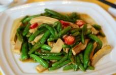 尖椒炒豆腐干图片