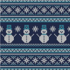 时尚圣诞节编织背景矢量素材设计