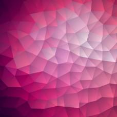 精美三角形背景矢量图