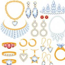 矢量珠宝手饰