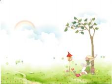 树下的女人