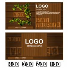 植物标志卡片图片