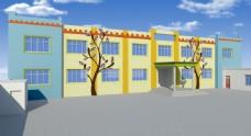幼儿园墙绘 幼儿园外墙设计
