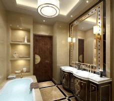 室内卫浴效果图