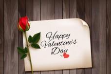 情人节玫瑰主题设计矢量图片设计