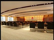大型的会议室模型1