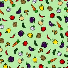 彩色食品图案设计