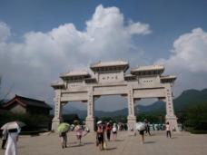 壮观的少林寺背景素材