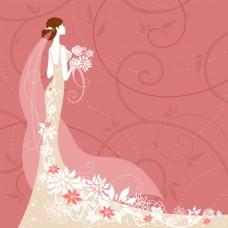 婚礼卡片背景