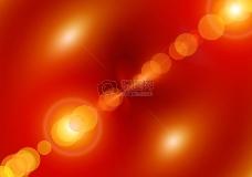 红色背景下的光芒