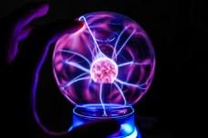 电子玻璃球图片
