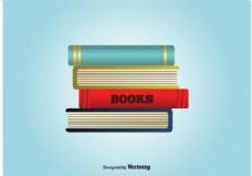书籍矢量栈