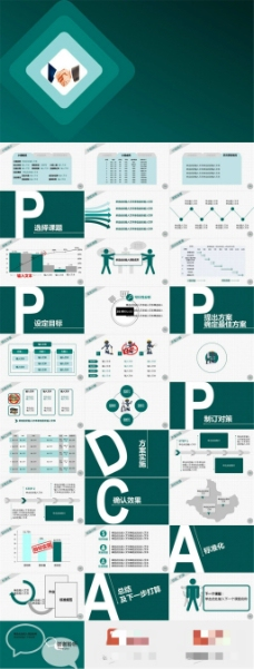 小组项目进度汇报总结ppt模板