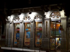 麦当劳快餐店