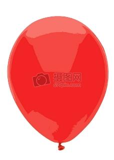 三维立体的气球
