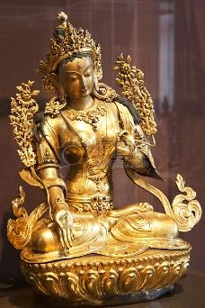 金色的雕像佛