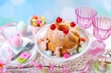 复活节蛋糕图片