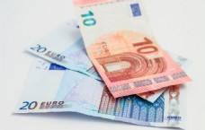 金融欧元纸币图片
