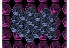 抽象的几何图案