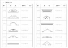 欧式室内CAD产品图