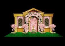 婚礼宫廷风格