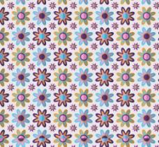 色彩鲜艳的花朵背景