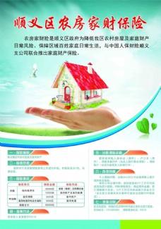 房屋财产保险海报