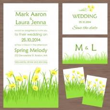 绿草婚礼主题模板下载