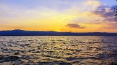 山西晋阳湖风景