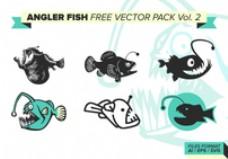 琵琶鱼自由矢量包卷2