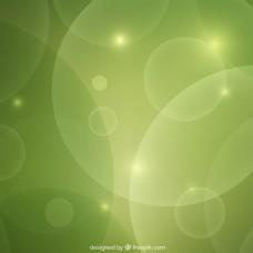 綠色的抽象背景虛化背景