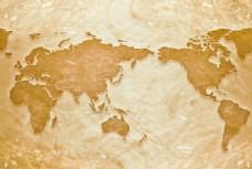 橙色梦幻水波的世界地图
