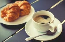 咖啡早餐图片