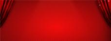 淘宝红色开幕式全屏背景图